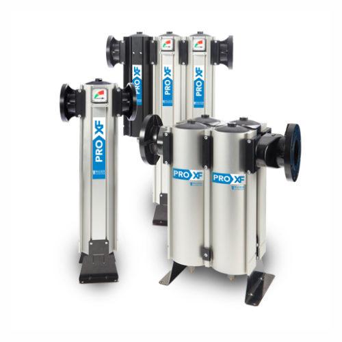 Range of PRO XF Coalescing filters