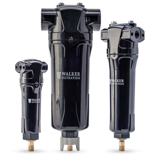 three black water separators