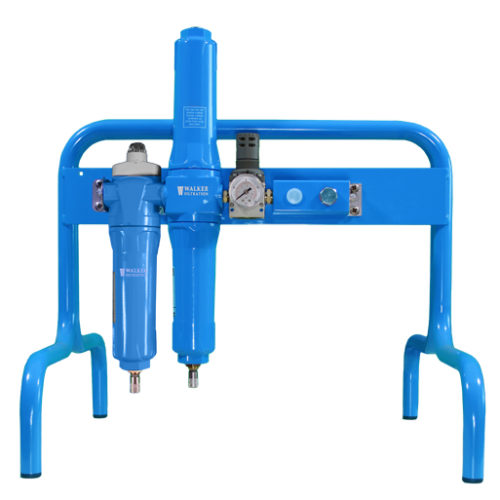 Breathable compressed air frame