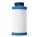 Blue compressed air filter element