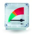 Standard differential pressure gauge