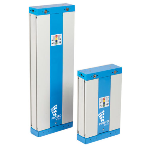 Small desiccant dryers