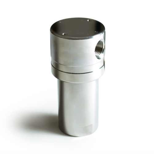 short stainless steel high pressure filter