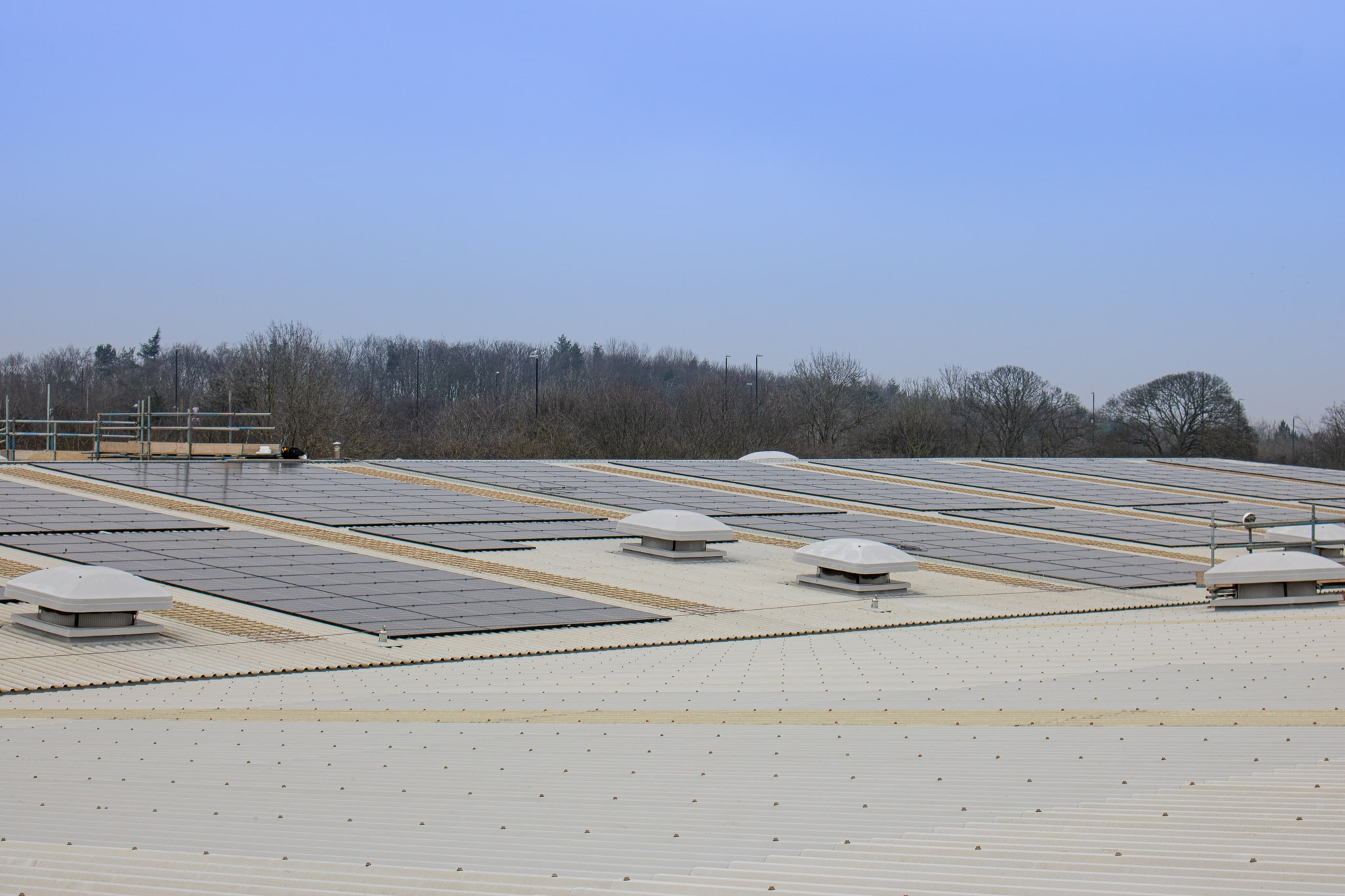 Walker Filtration Solar Panel Installation - working towards a sustainable future